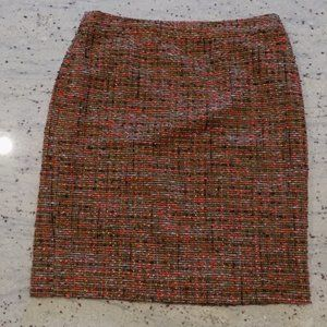 'The Pencil Skirt' by J.Crew, Multi-colored Tweed